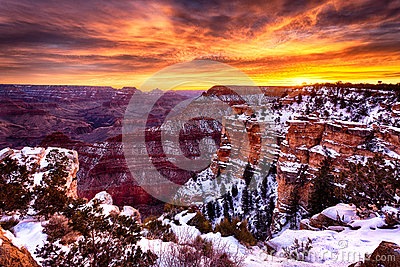 The Magnificent Grand Canyon at Sunrise