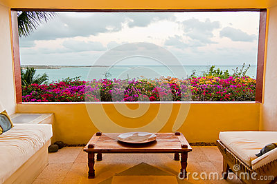 Magnificient Caribbean oceanview from room