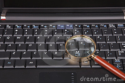Magnifier on keyboard