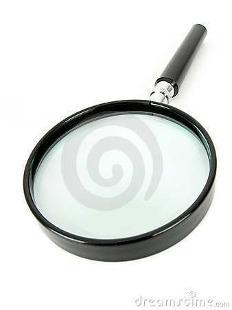 Free Magnifying Glass Stock Image - 234731