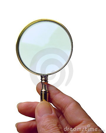 Free Magnifying Glass Stock Photo - 9561710