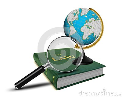 Magnifying Glass and the Book of Law