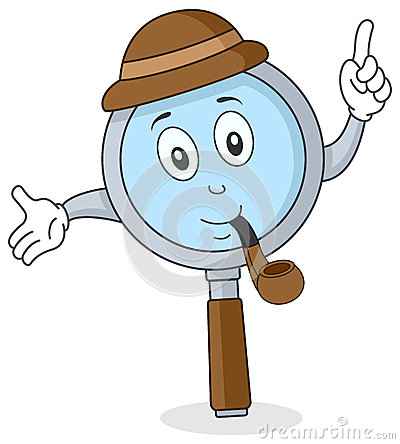 Magnifying Glass Character