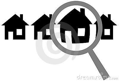 Magnifying Glass Find Website Home Inspect House