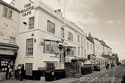 The Magpie Cafe Editorial Stock Image