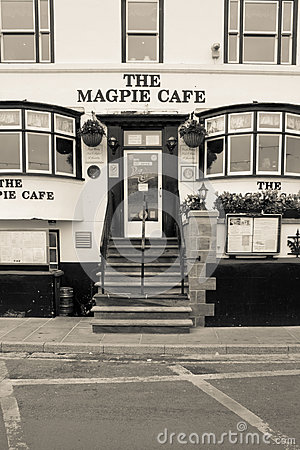 The Magpie Cafe, Whitby Editorial Stock Image
