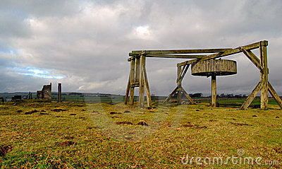 Magpie Mine at Sheldon, Derbyshire