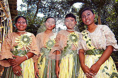 Mah Meri people Editorial Stock Photo