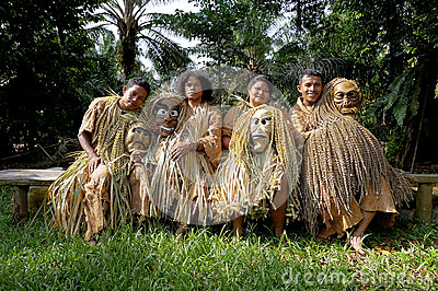 Mah Meri People Editorial Stock Photo