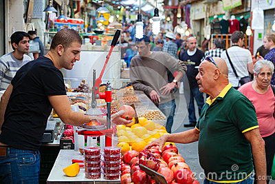 Mahane Yehuda Editorial Photo