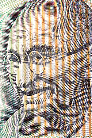 Mahatma Gandhi on Currency Note