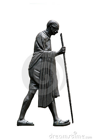 Free Mahatma Gandhi, Dandi March Stock Photography - 15355412