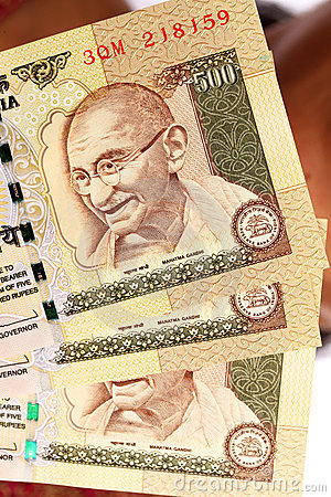 Mahatma Gandhi on rpee notes