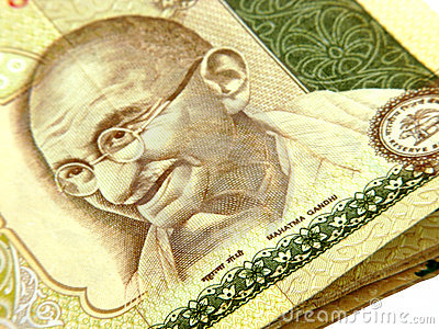 Mahtma Gandhi On Currency