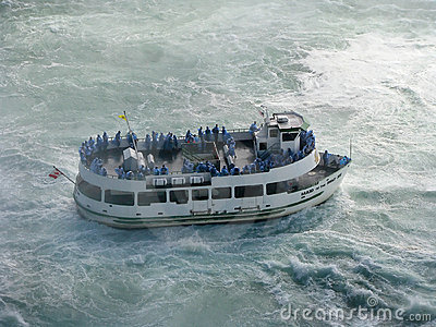 Maid of The Mist Editorial Image