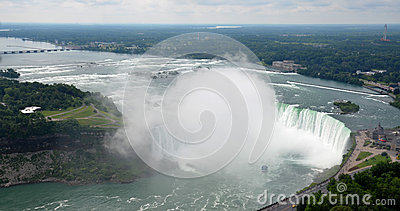 Maid of the Mist at Horseshoe falls Editorial Image