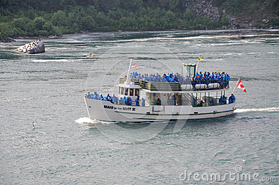 Maid of the Mist, Niagara Falls Editorial Image