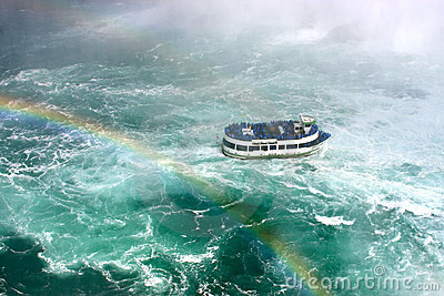 Maid of the Mist Tour Boat in Niagara Falls