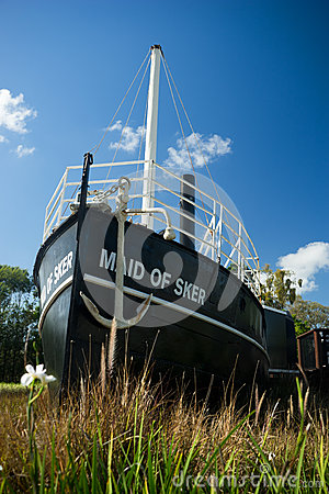 Free Maid Of Sker Paddle Steamer Stock Photography - 68156412