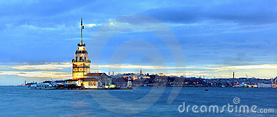 Maiden Tower Panaromic