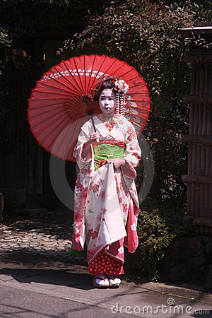 Maiko and geisha Editorial Image