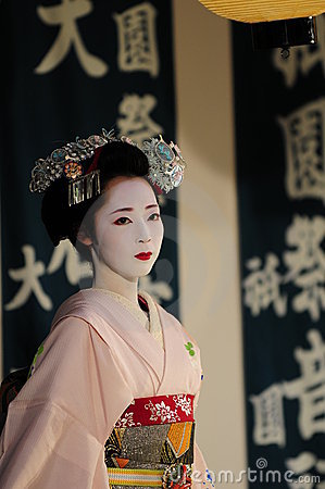 Maiko at Japanese festival Editorial Image