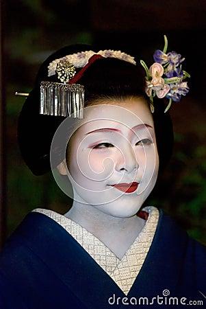 Maiko, Kyoto, Japan Editorial Stock Image