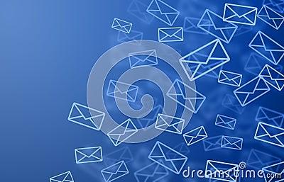 mail background royalty free stock image image 12572846