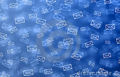 Mail Background Royalty Free Stock Photos - Image: 12578668