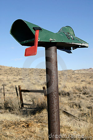 Mail Box Thrashed