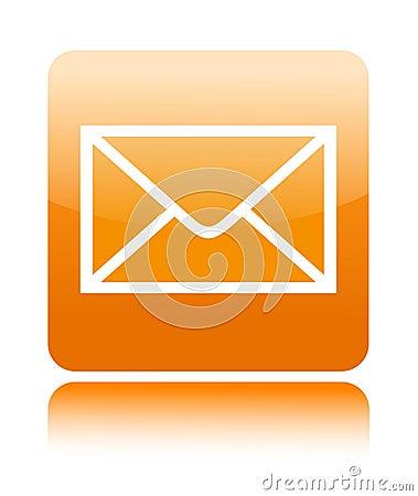 Free Mail Button Icon Stock Photo - 25623190