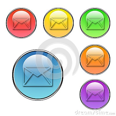 Mail buttons set