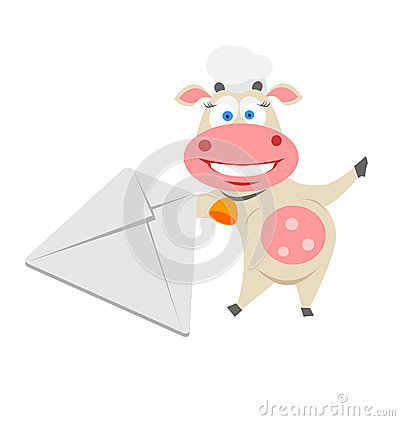 Mail cow