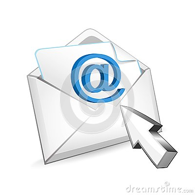Mail with cursor
