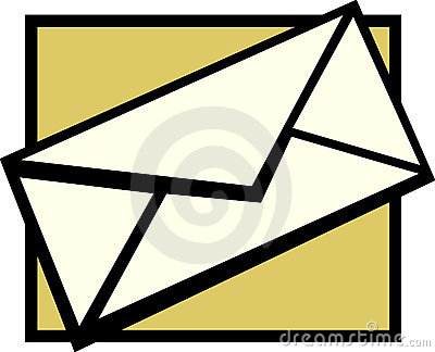 Mail envelope vector illustration