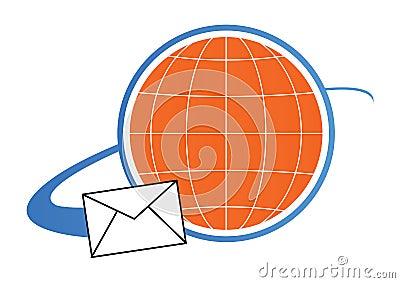 Mail logo concept - vector