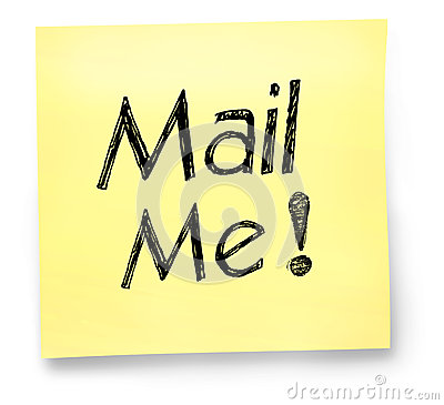 Mail Me Note