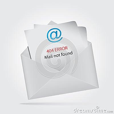 Mail not found, return to sender