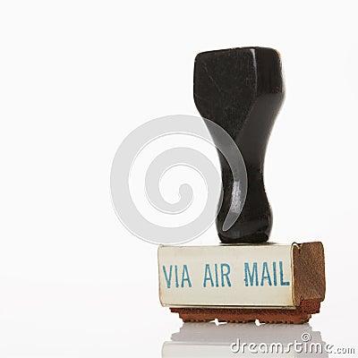 Mail stamp.