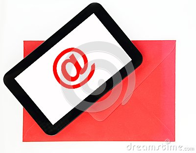 Mail on tablet