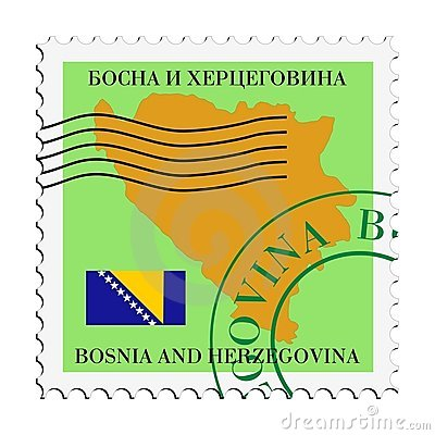 Mail to/from Bosnia and Herzegovina