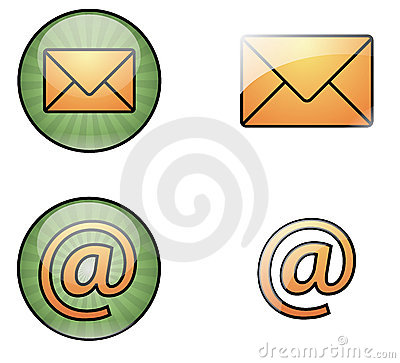 Mail web icons