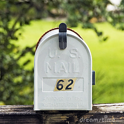 Mailbox in the Country Side
