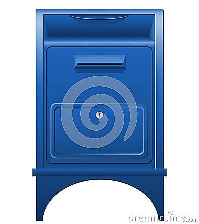 Mailbox icon vector illustration