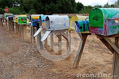 Mailbox Row
