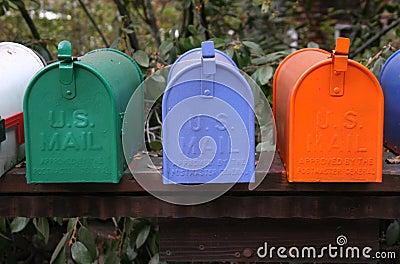 Mailbox Trio