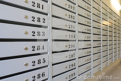mailboxes royalty free stock photo image 34216835