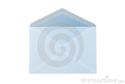Mailing envelope isolated.
