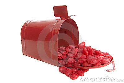 Mailing valentine s day candy