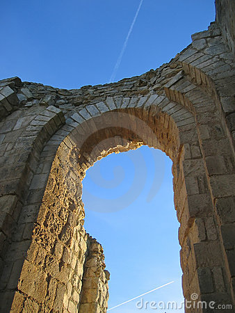 Free Maillezais French Abbey Stock Photography - 2172282